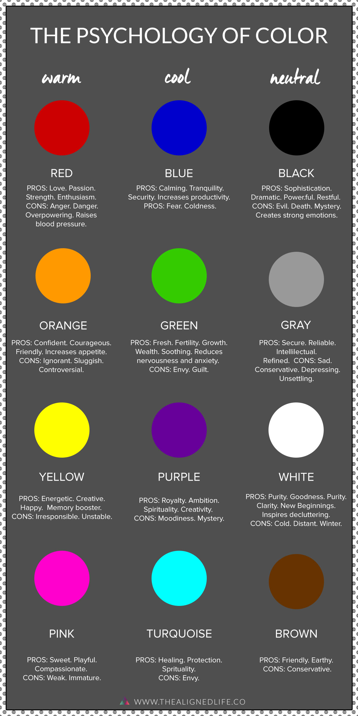 The Life Changing Power Of Color Psychology The Aligned Life