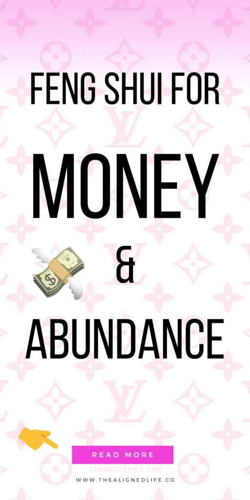 pink Louis Vuitton logos with text 10 Feng Shui Tricks for Money & Abundance