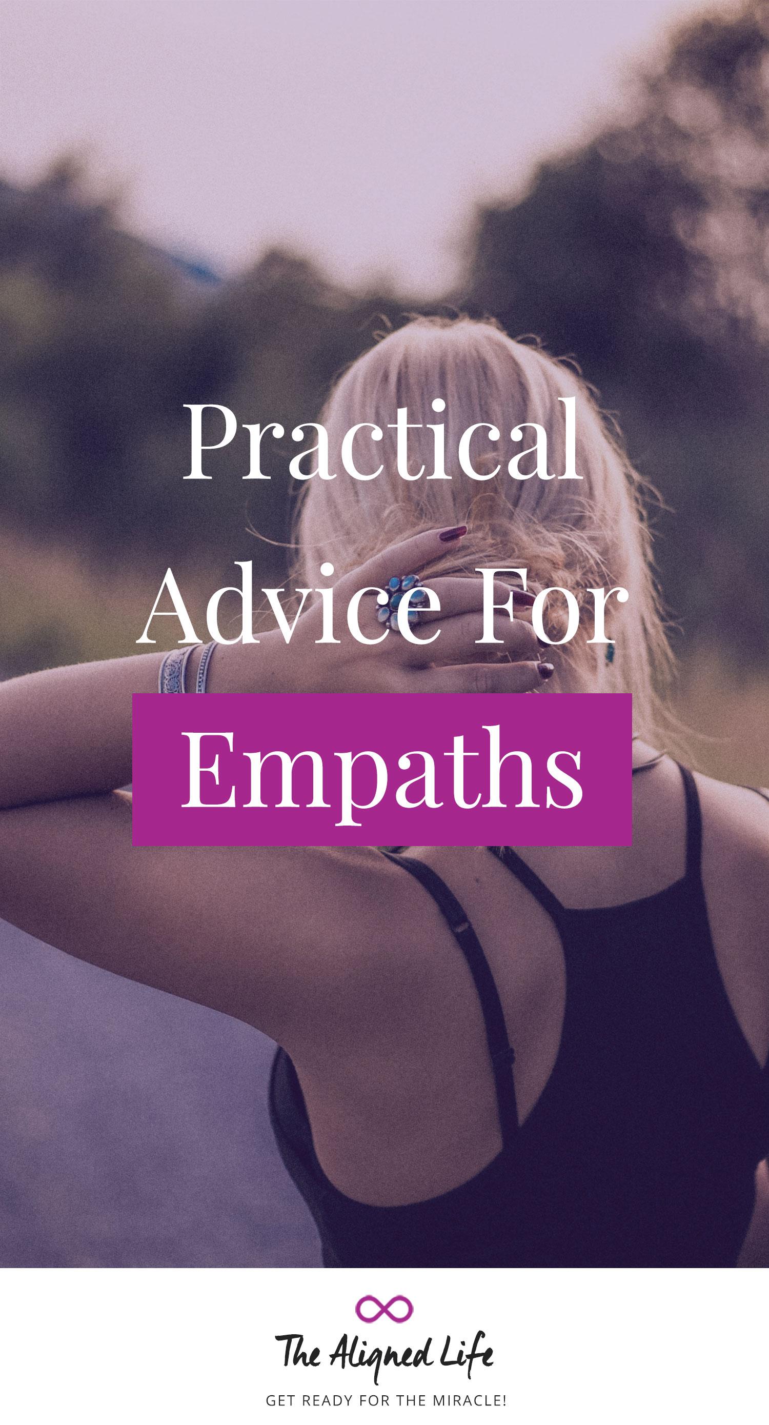 Practical Advice For Empaths