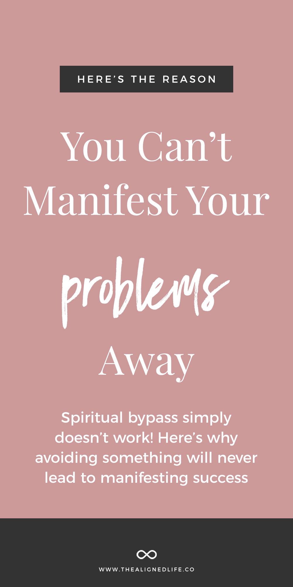 The Reason You Can't Manifest Your Problems Away: Avoidance + The Law of Attraction