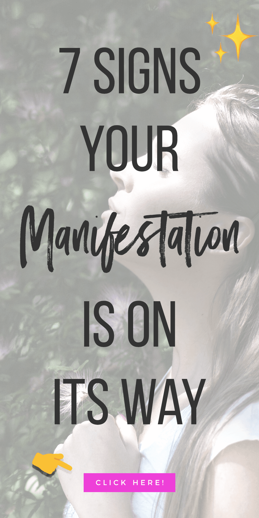 7 Signs Your Manifestation Is On Its Way