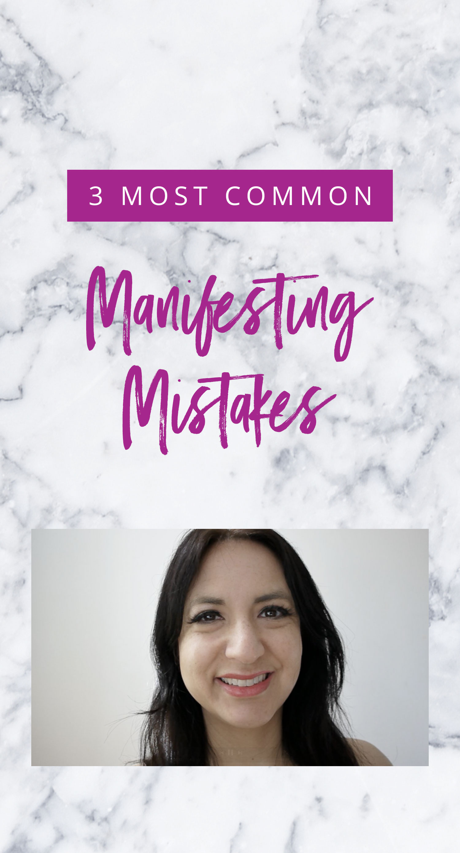 Video: 3 Common Manifesting Mistakes