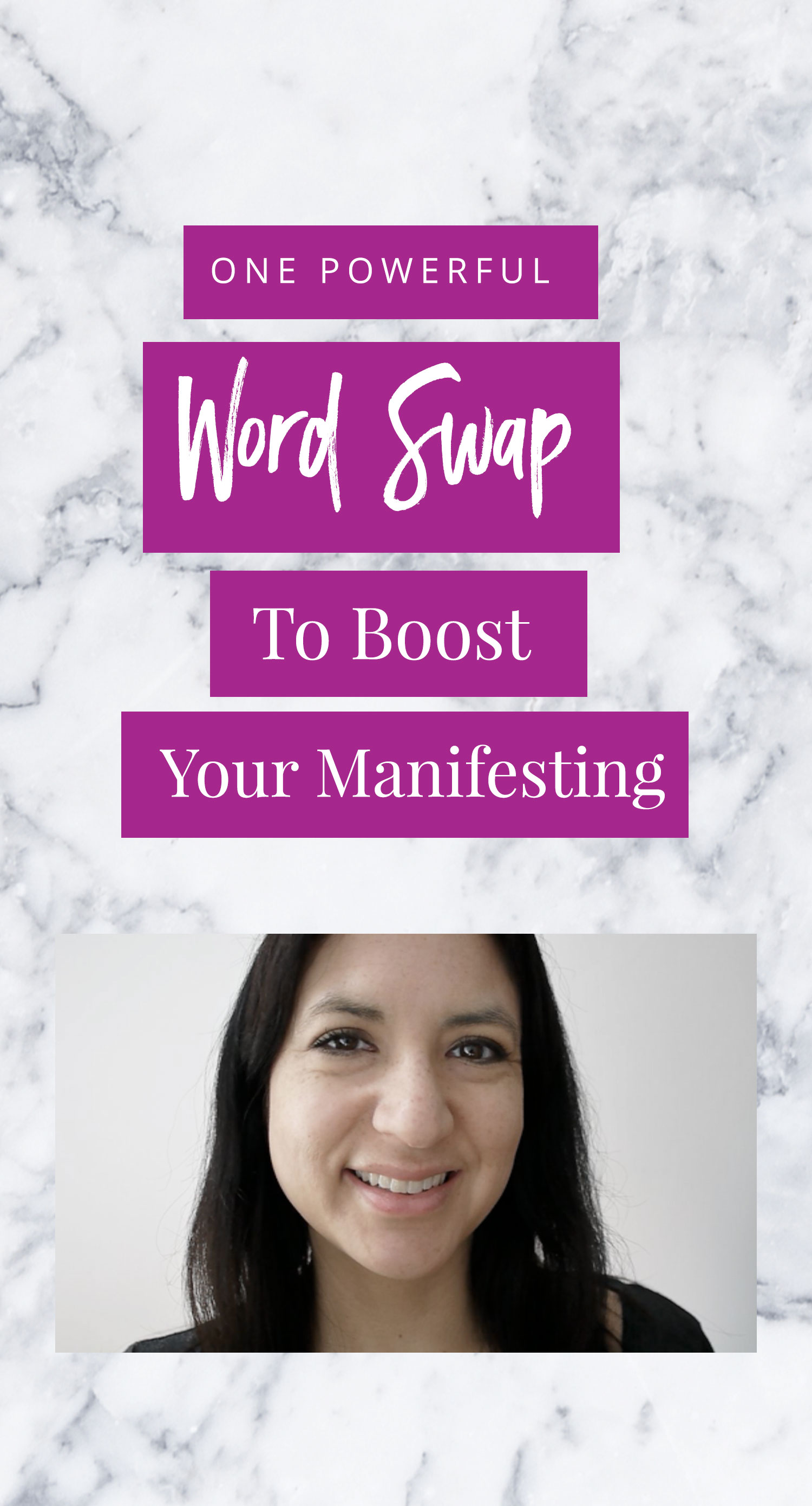 A Powerful Word Swap To Boost Your Manifesting