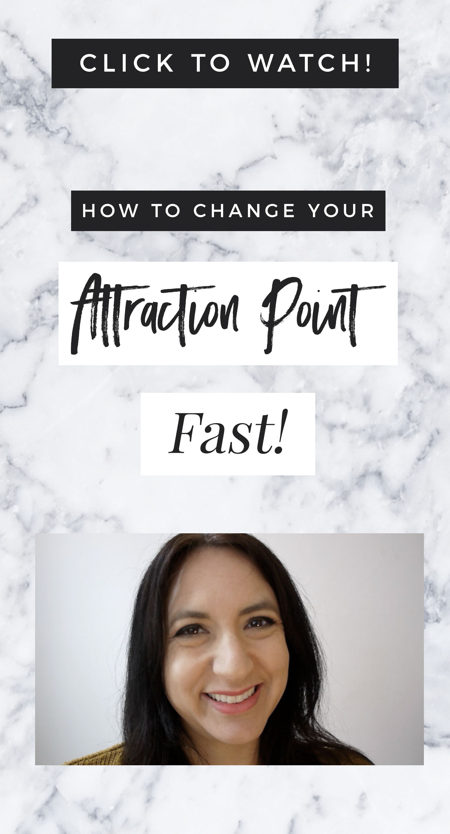 How To Change Your Attraction Point - FAST!