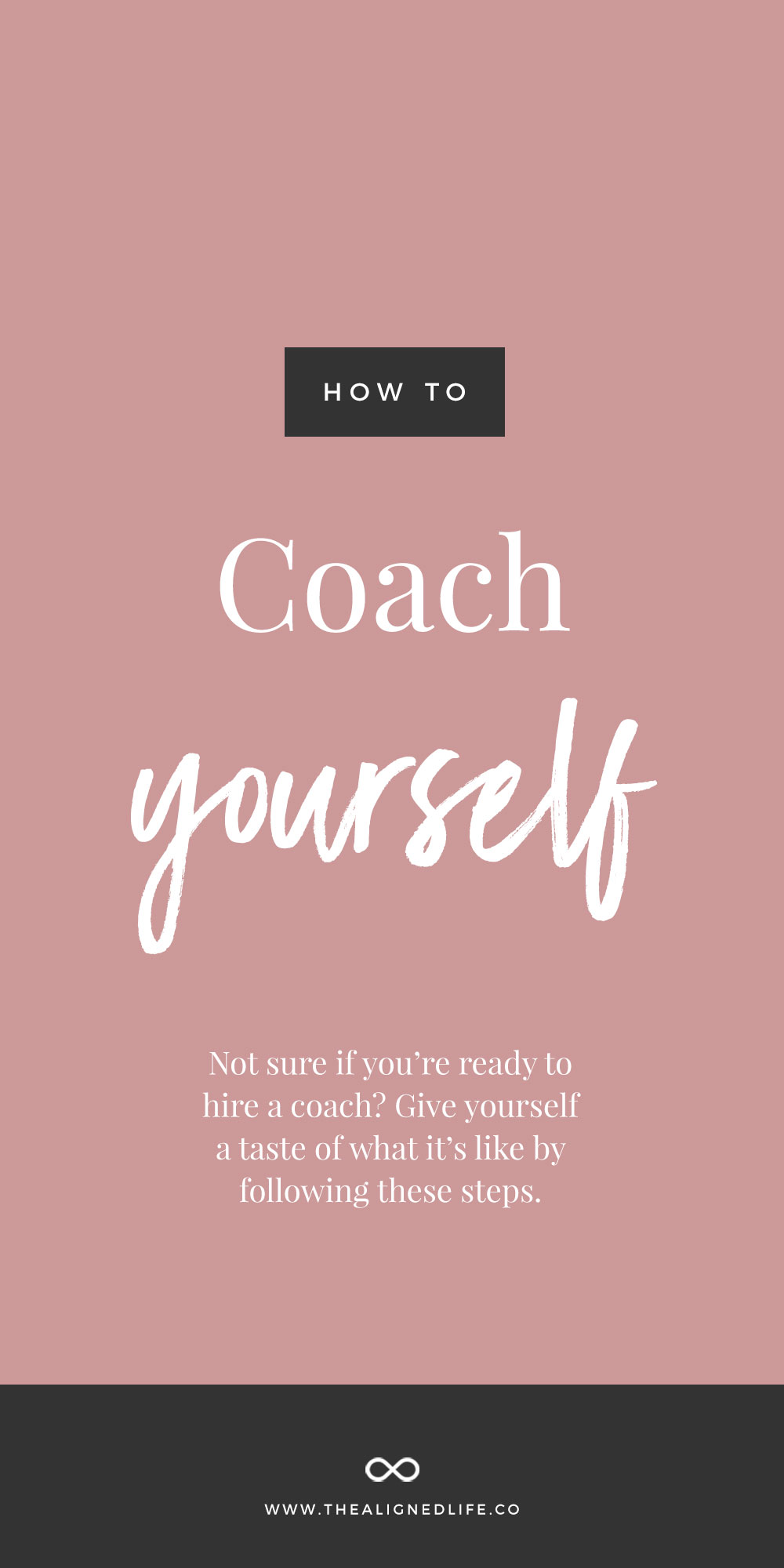 How To Coach Yourself