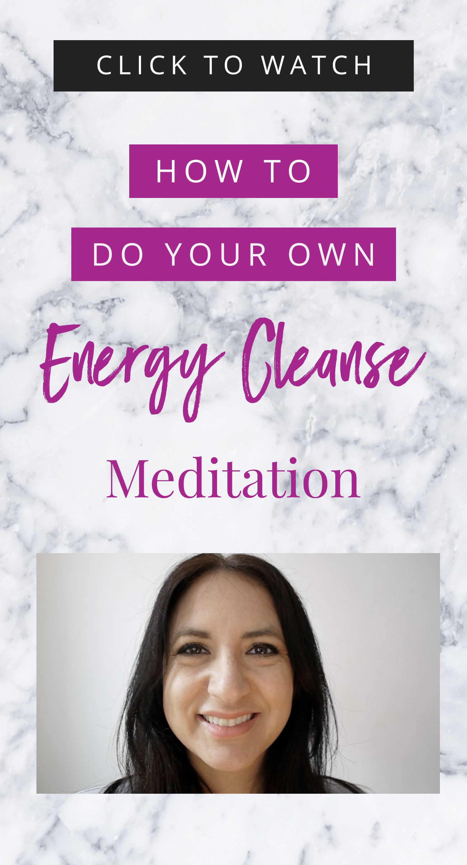 VIDEO: How To Energy Cleanse Yourself