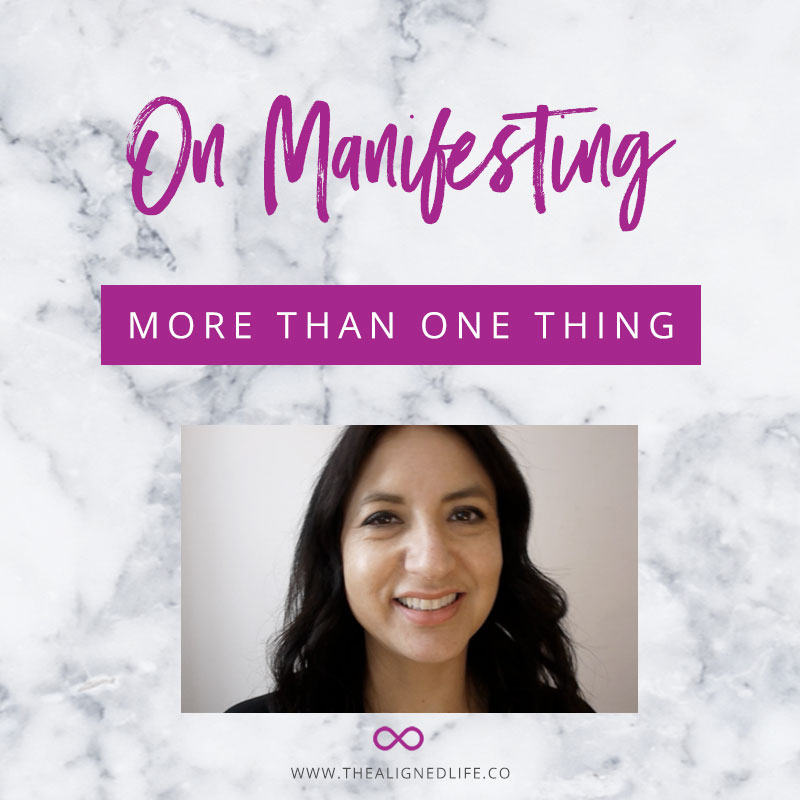 Video: On Manifesting More Than One Thing At The Same Time