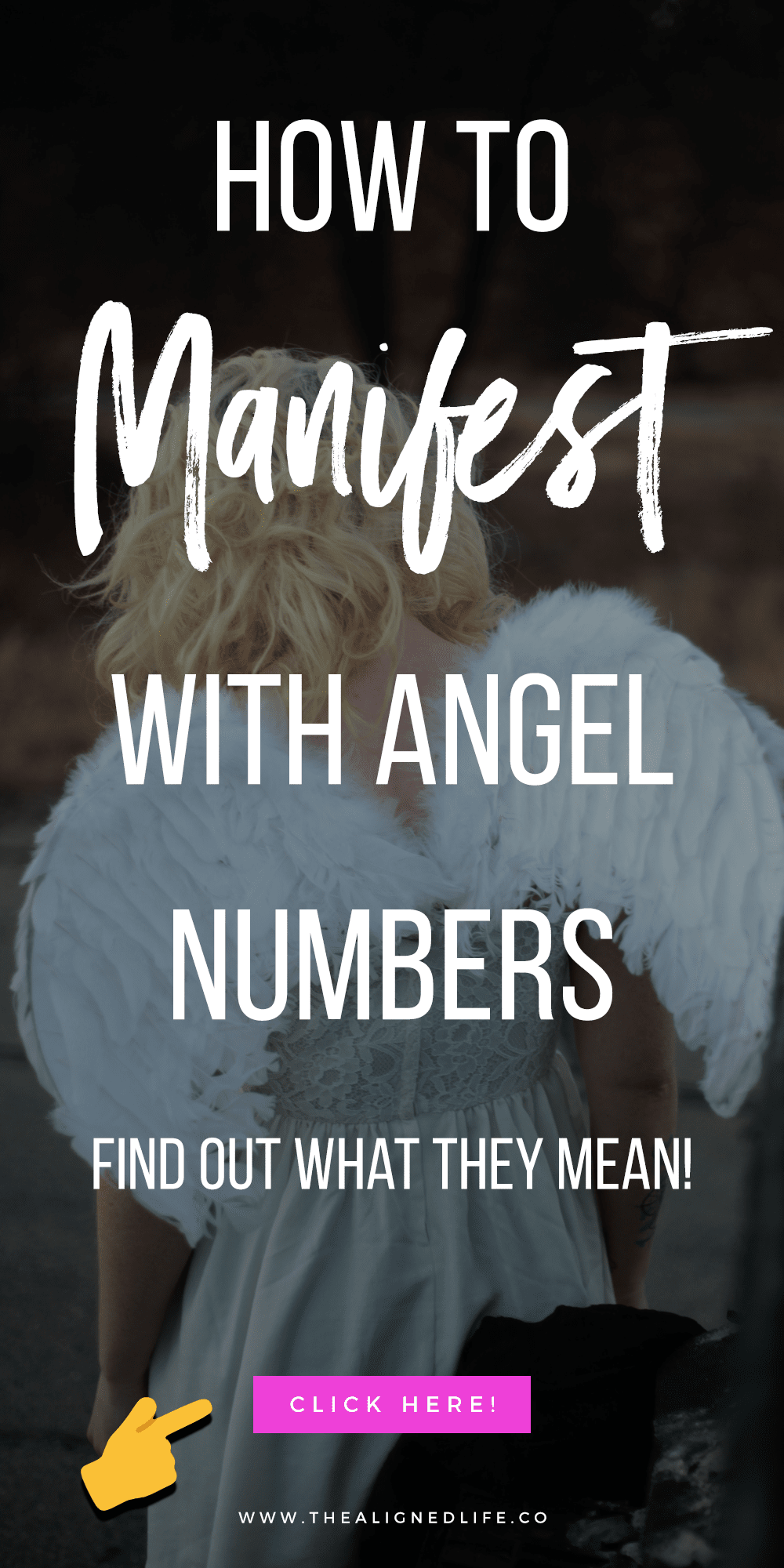 white background with text that reads How To Manifest With Angel Numbers Like 1111: What Do They Mean?