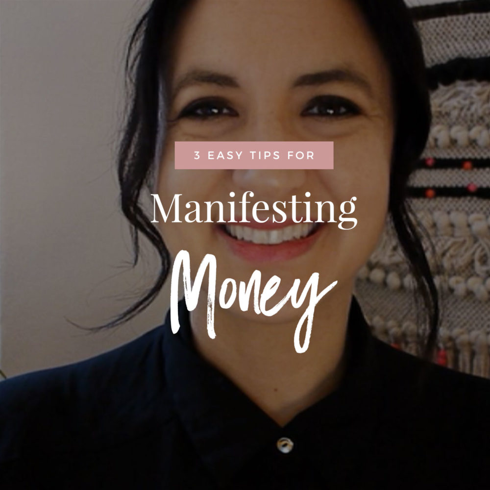 3 Tips For Manifesting Money