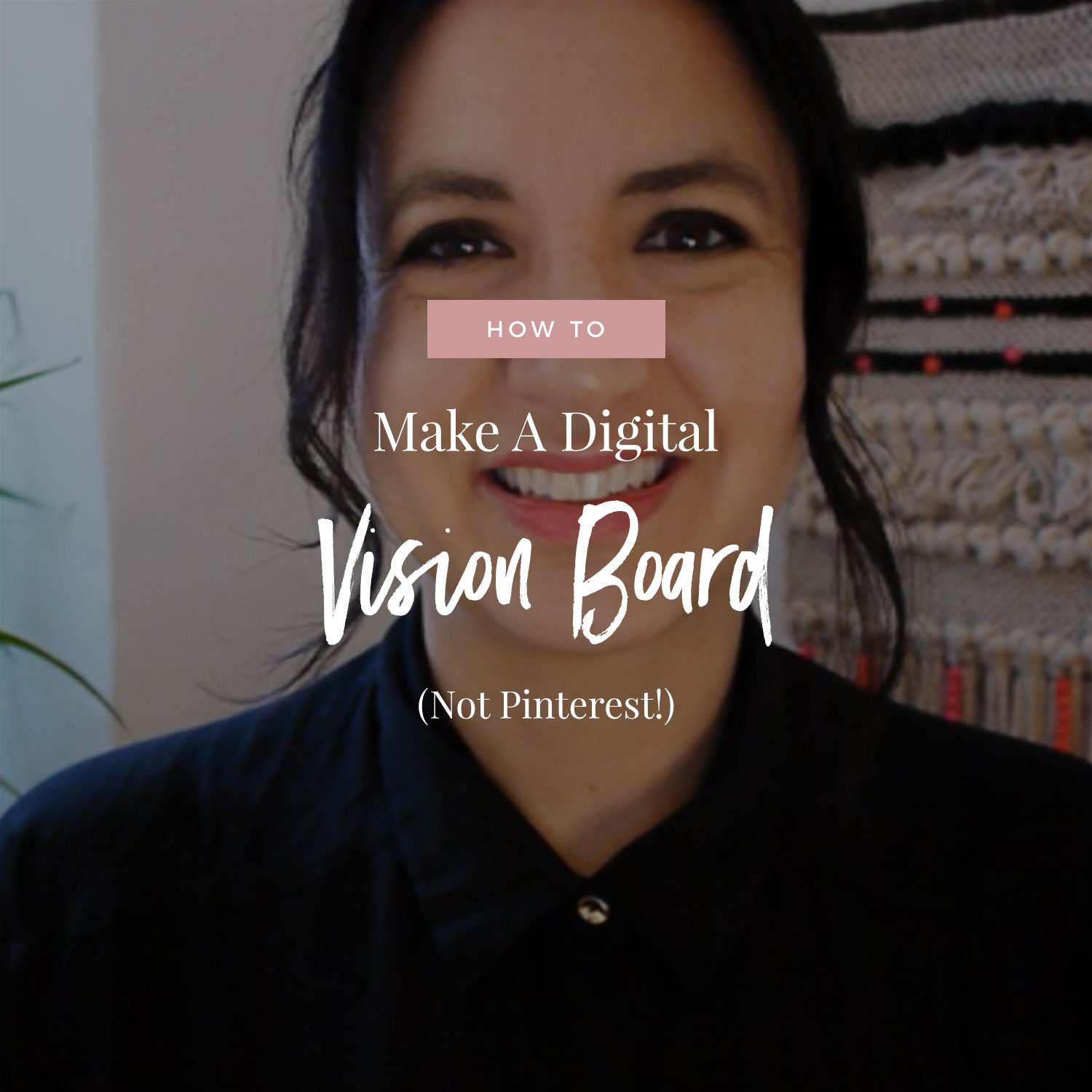 How To Make A Digital Vision Board (Not Pinterest!)