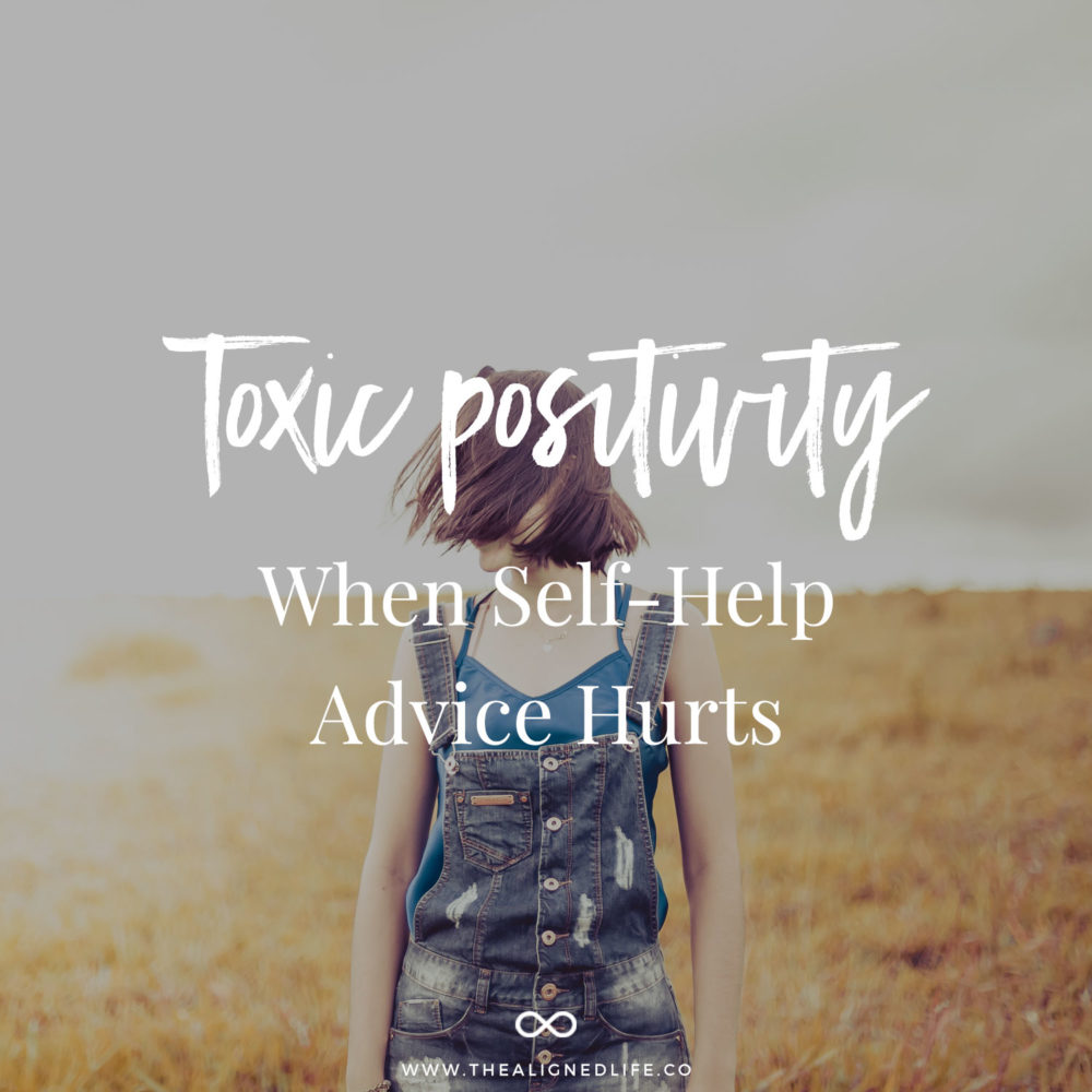 Toxic Positivity: When Self-Help Actually Hurts