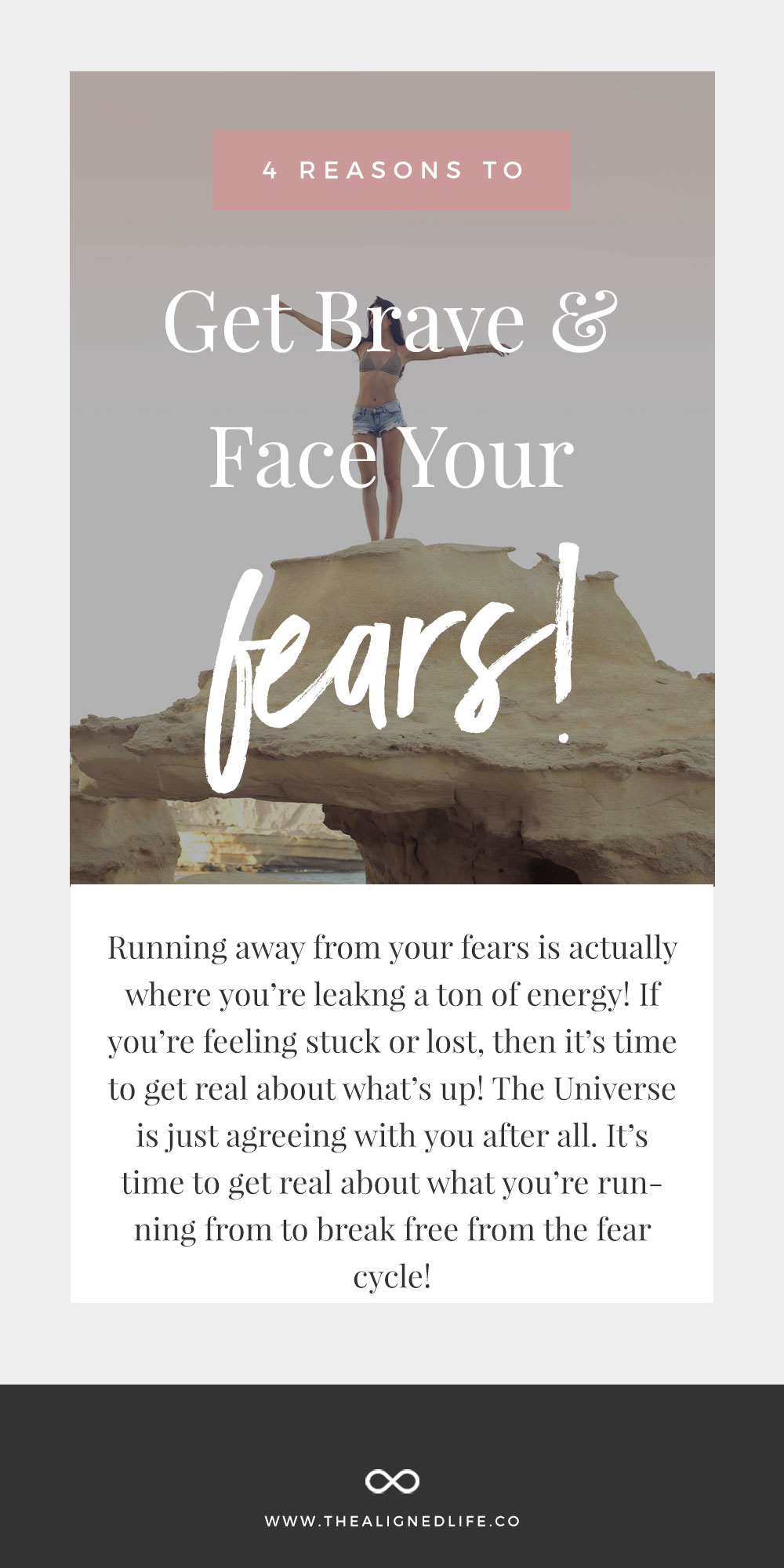 4 Reasons To Get Brave & Face Your Fears! Why Running Away Is Holding You Back