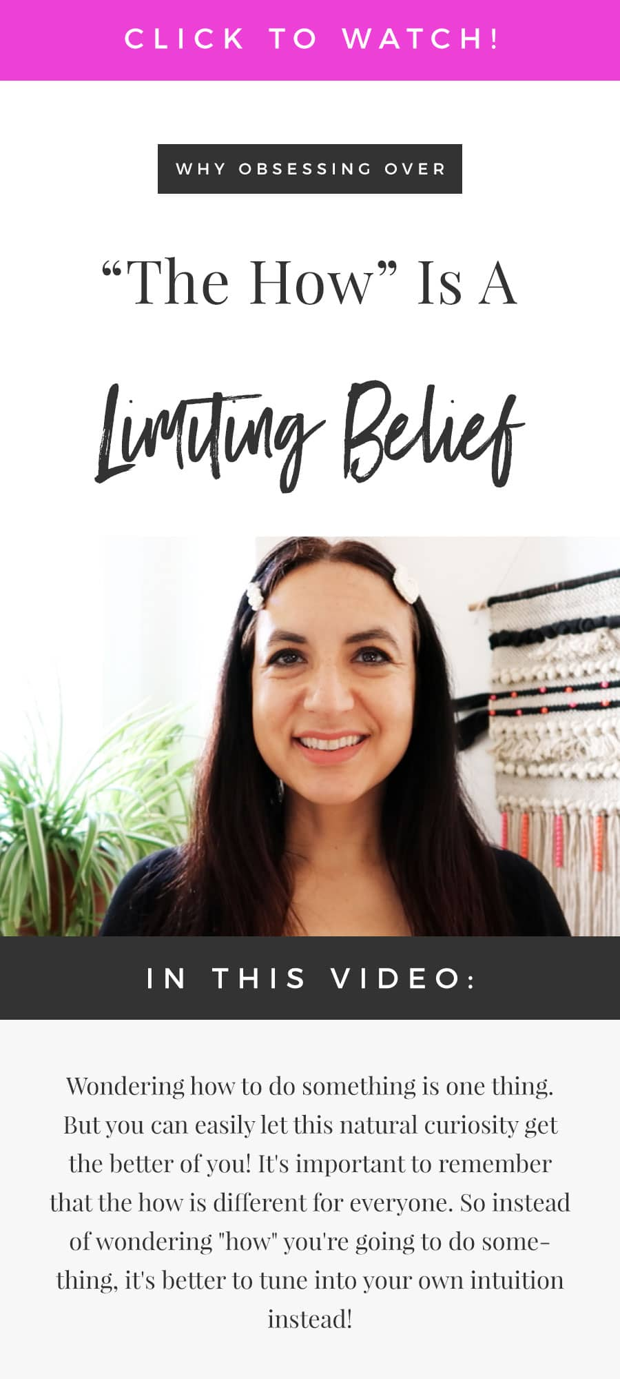 Why Obsessing Over The How Is A Limiting Belief