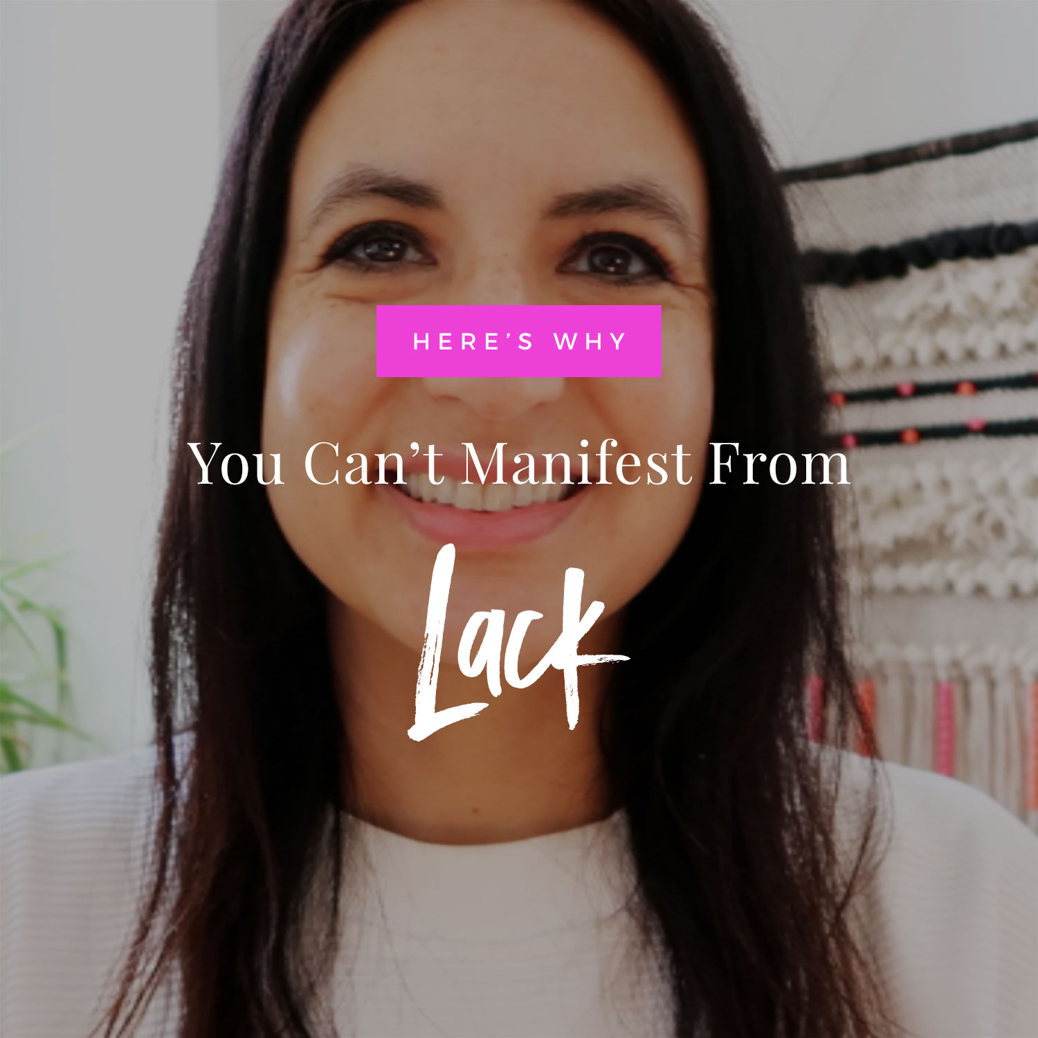 Why You Can't Manifest From Lack