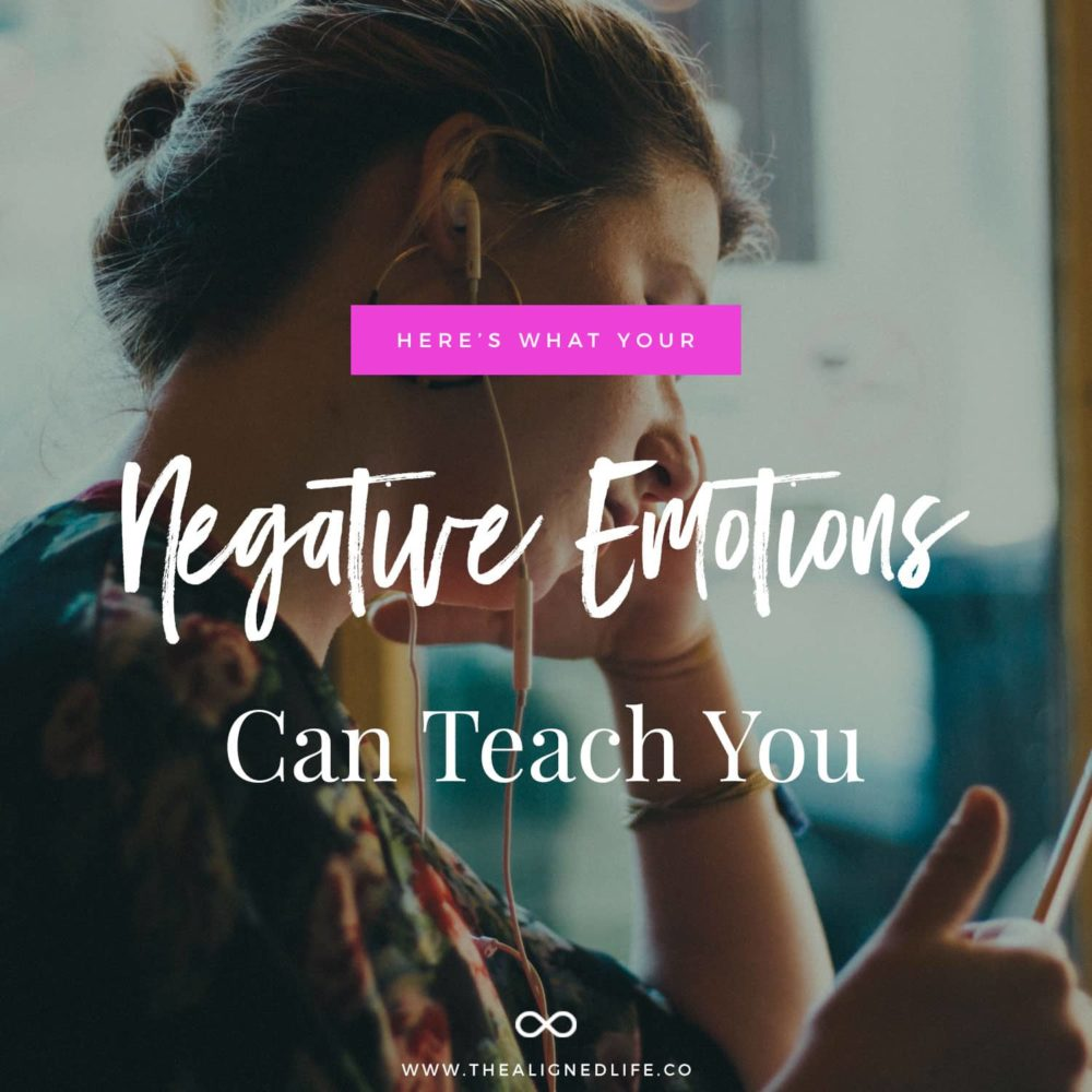 Finding The Silver Lining: What Your Negative Emotions Can Teach You