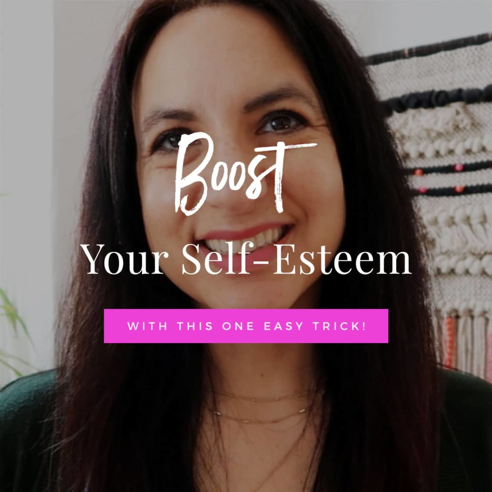Boost Your Self-Esteem With This One Trick!
