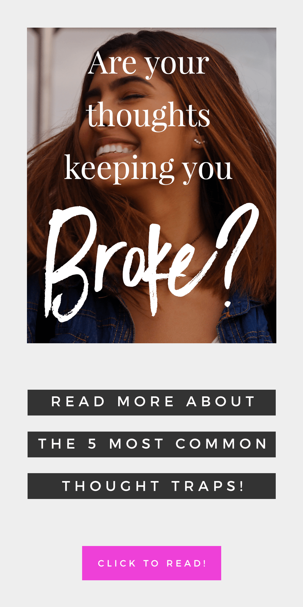 5 Thoughts That Are Keeping You Broke: Get Unblocked To Manifest Money