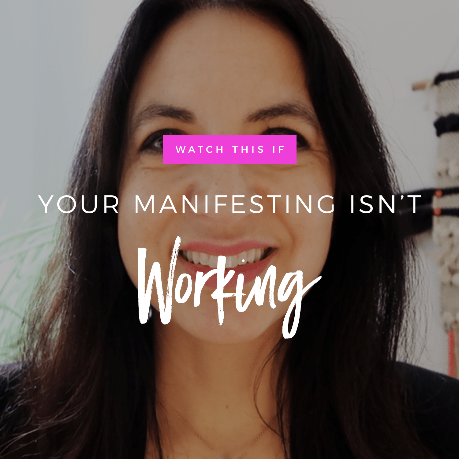 Watch This If You're Manifesting Isn't Working