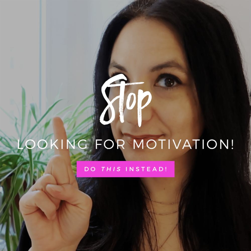 Stop Looking For Motivation! Do THIS Instead