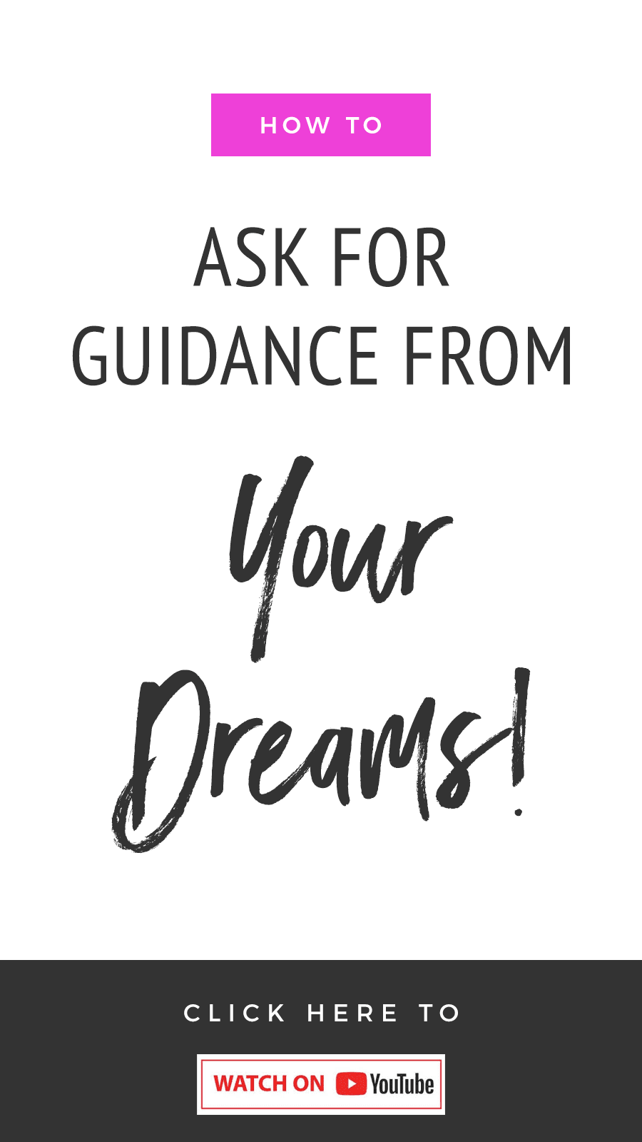 How To Receive Guidance From Your Dreams