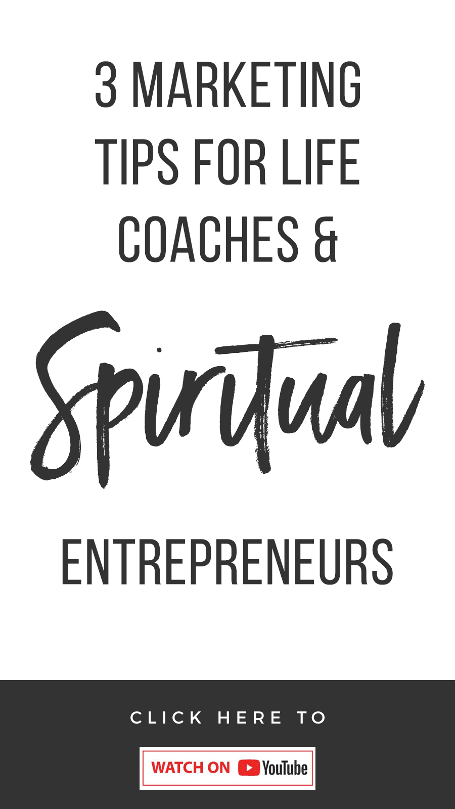 3 Marketing Tips For Life Coaches & Spiritual Entrepreneurs
