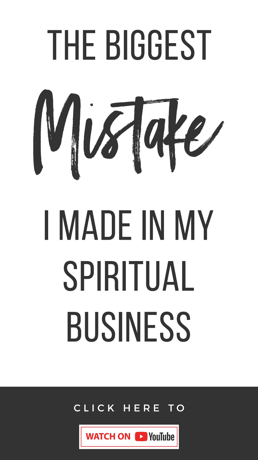 The Biggest Mistake I Made With My Spiritual Business