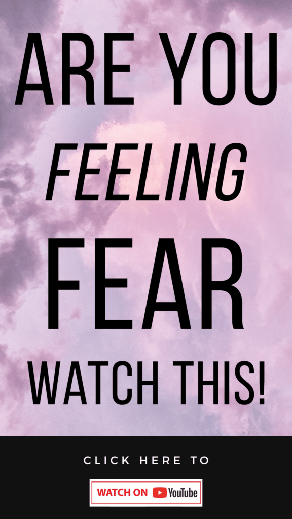 purple background with text The Fear Workshop | How To Stop Worrying & Finally Get What You Want