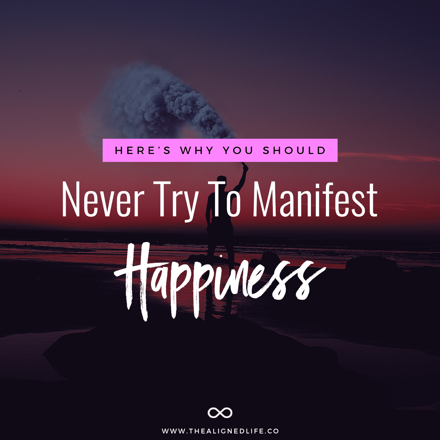 Why You Should Never Manifest Happiness